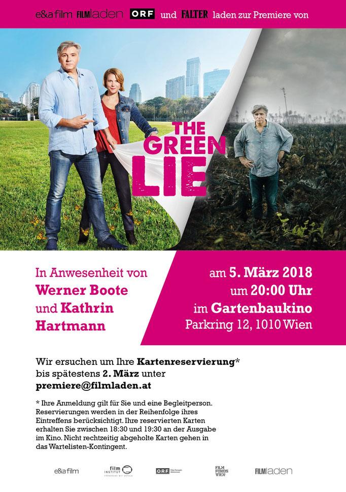 """The Green Lie"" - Billboard"