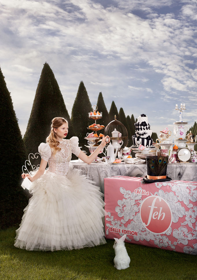 """FEH Belle edition"" - photography: katsey - styling & set design: karin boba - model: marie @wienermodels - makeup & hair: anie lamm-siu"