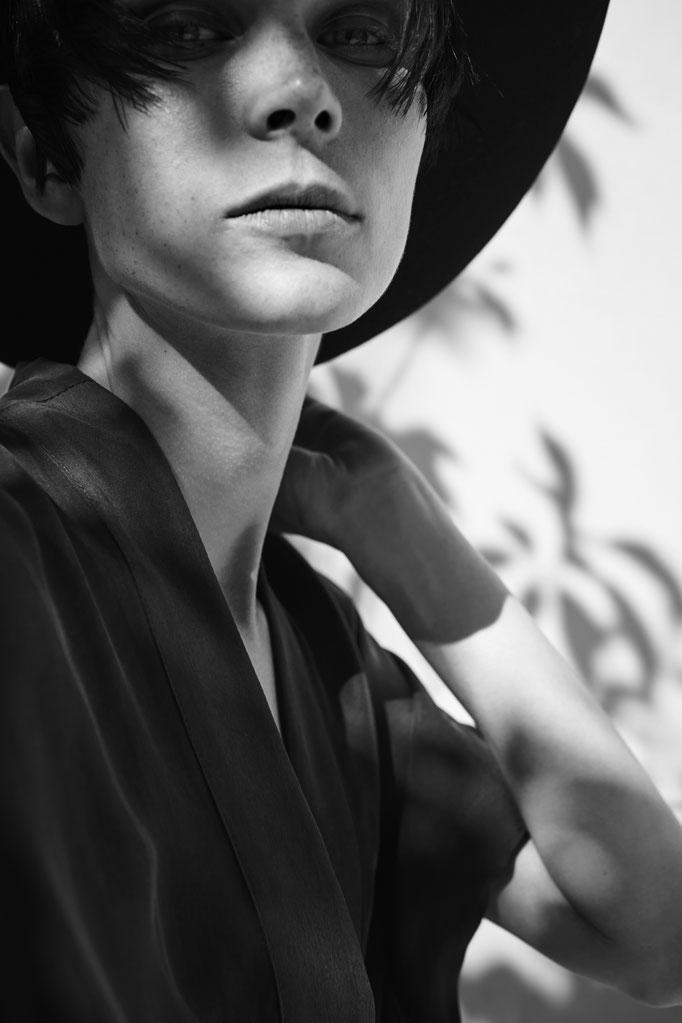 SERPEN - photographer: renee bevan - fashion: serpen - makeup/hair: anie lamm-siu - model: indre aleksiuk @silent NY