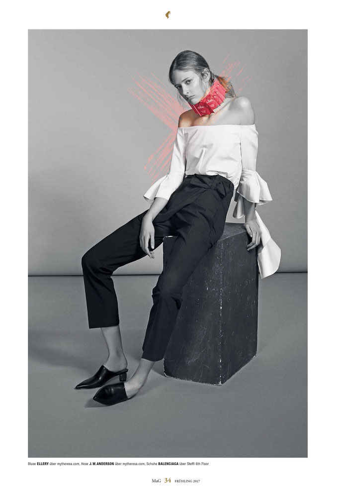 """la vie en rose"" for meinl magazin - production: georg khittl - photography: dirk bader - styling: simon winkelmüller - makeup & hair: anie lamm-siu - model: anna f. @tempomodels"