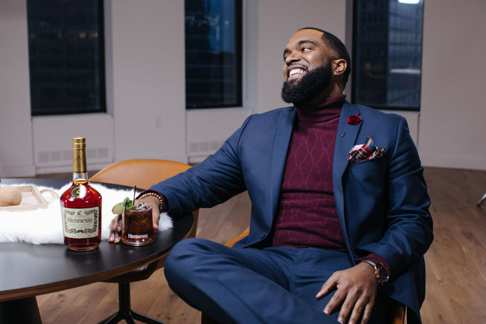photographed by lauren cowart for hennessy US - grooming by anie lamm-siu