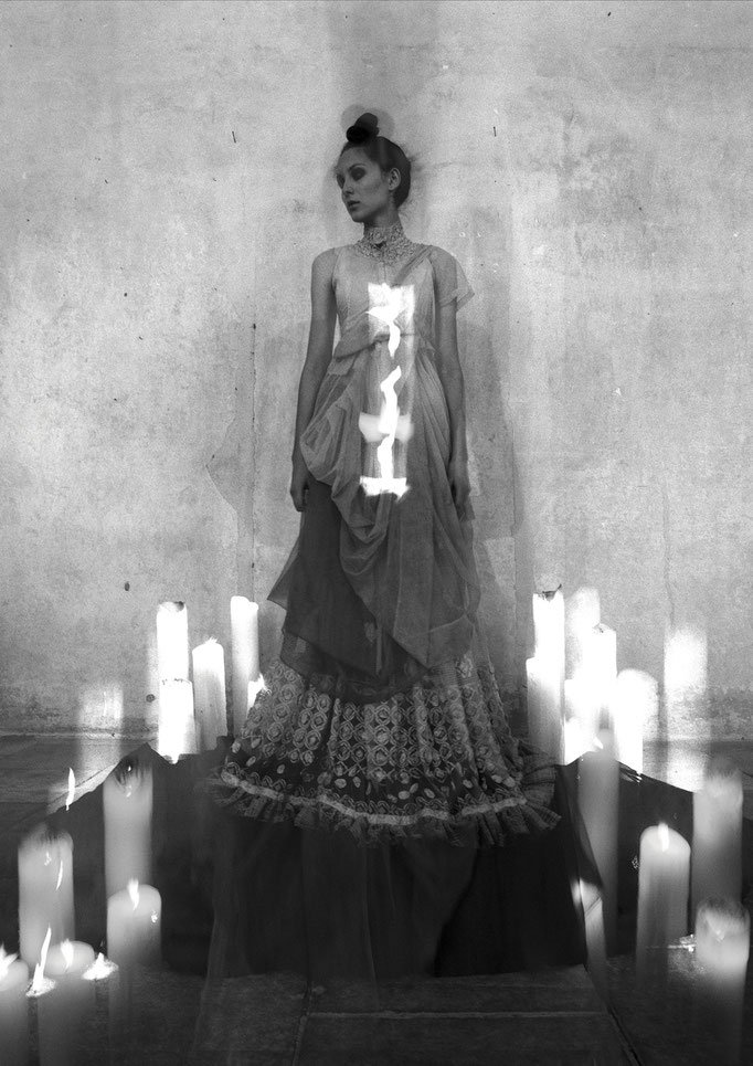 """apparition"" - photography: andreas waldschuetz - creative director & styling: adia trischler - hair: patrick glatthaar - makeup: anie lamm-siu"