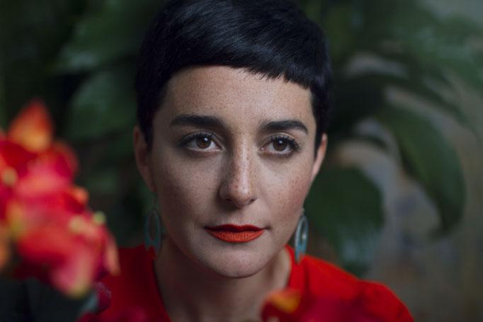 """Camila Meza"" - photographer: rachel thalia - assistant: shima green - makeup & hair: anie lamm-siu"