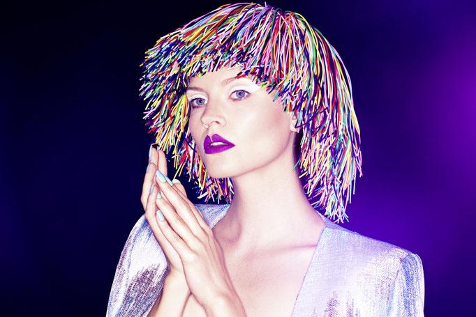 photographer: andreas waldschuetz - idea/wig/makeup: anie lamm-siu