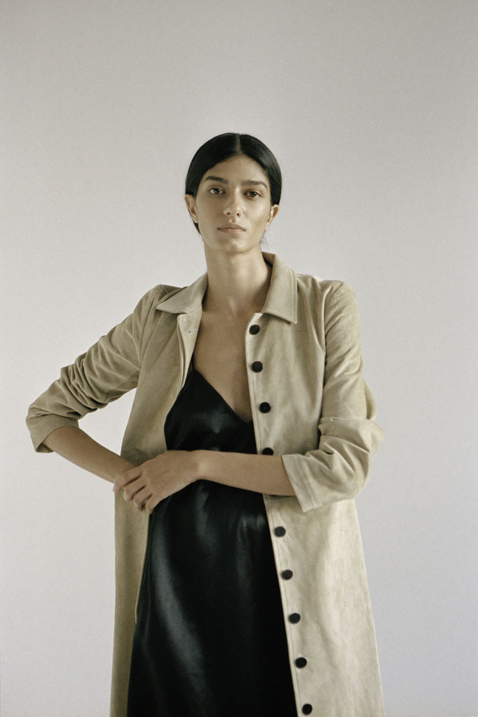 "lookbook for ""Perennial"" - photographer: renee bevan - fashion: perennial - makeup/hair: anie lamm-siu - model: gunce gozutok"