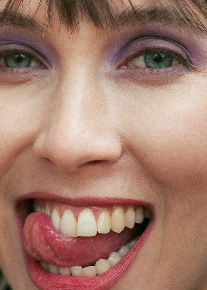 """a day at the park"" - photographer: lee o'connor - stylist: bettina bati - hairstylist: helen walker - makeup: anie lamm-siu - model: vaughan elizabeth"
