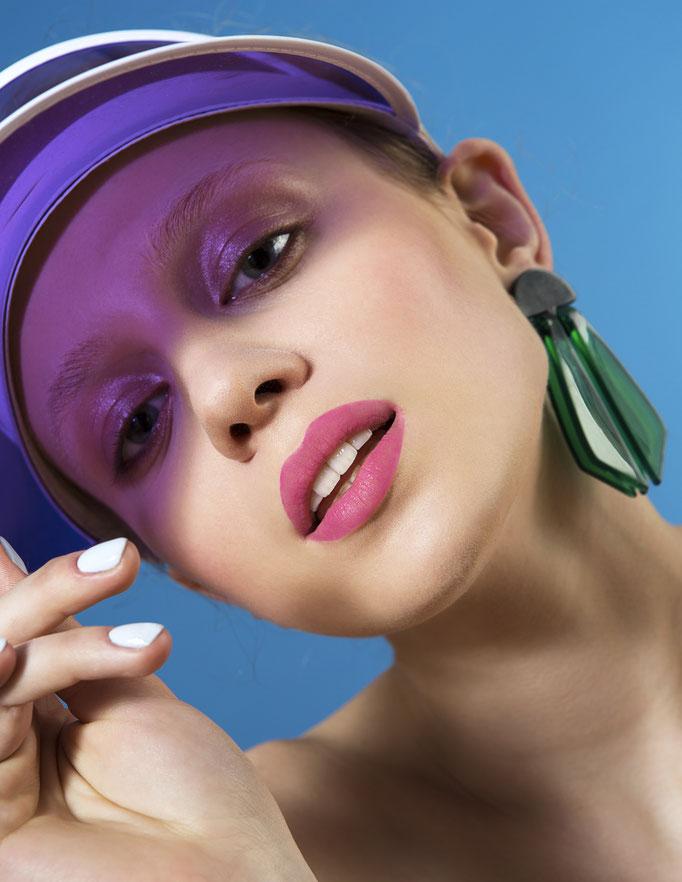 """sommerlaune"" - photography: patricia weisskirchner - concept/idea: anie lamm-siu - makeup/hair/nails: anie lamm-siu - model: ksenia m."
