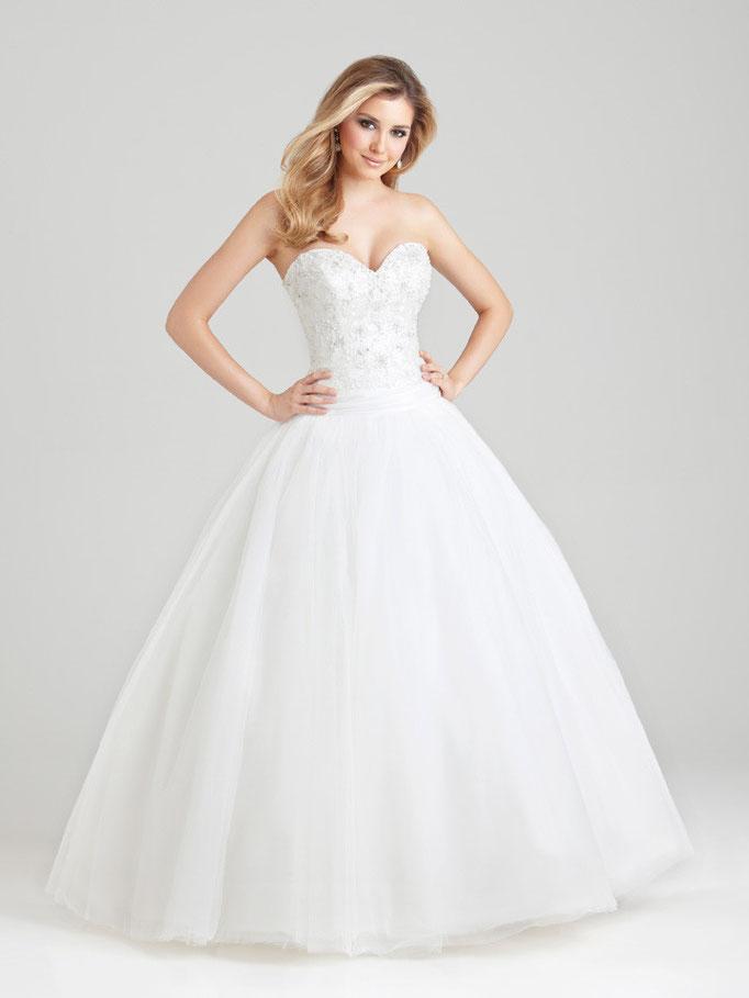 Vestido de novia Allure bridals corte princessa