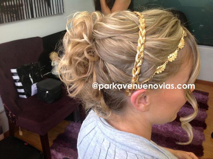 peinado de novia para boda en cuernavaca  by park avenue