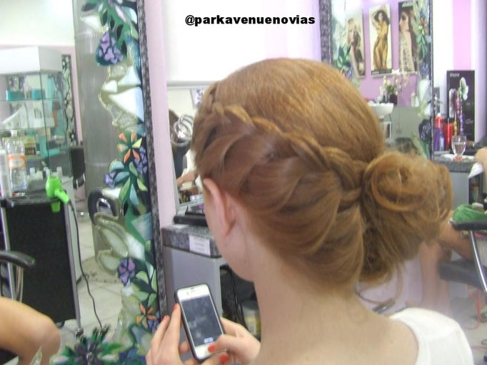 peinado novia trenza by park avenue