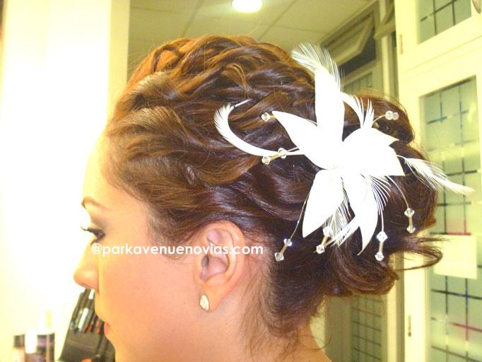 peinado con rizos definidos para tu boda en cuernavaca