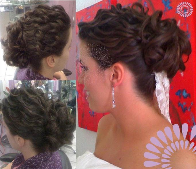 Peinado de novia útlima tendencia BY PARK AVENUE NOVIAS