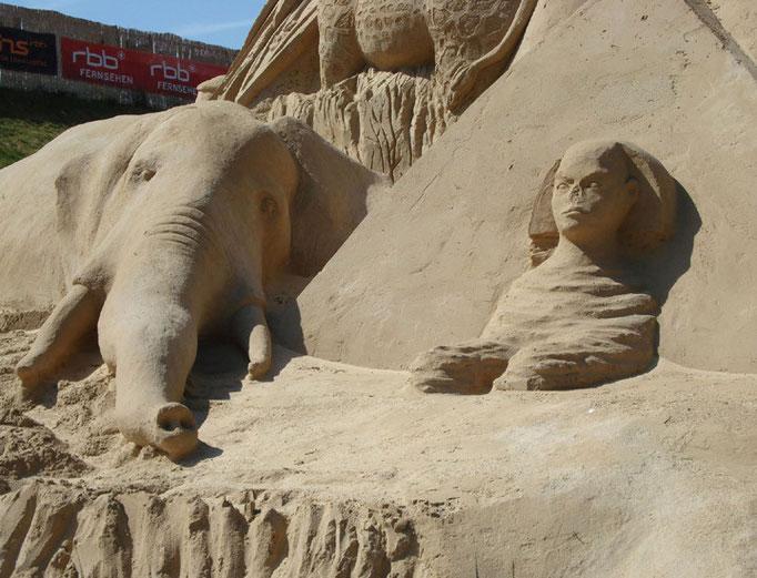 Elefant, Shpinx (Südseite)