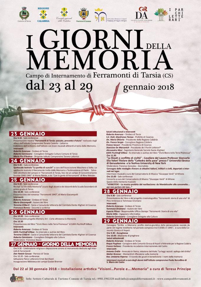 """Presentazione del libro """"Ferramonti 1943"""" di Mario Giacompolli"""