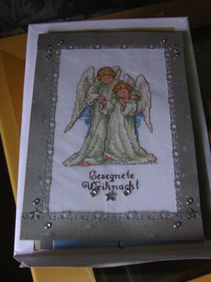Engel, Kreuzstich