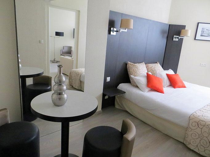 Décoration de chambres d'hotel -Bayonne- 2013