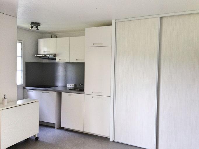 Rénovation d'un appartement de vacances, residence pierre et vacances -Moliets-2016