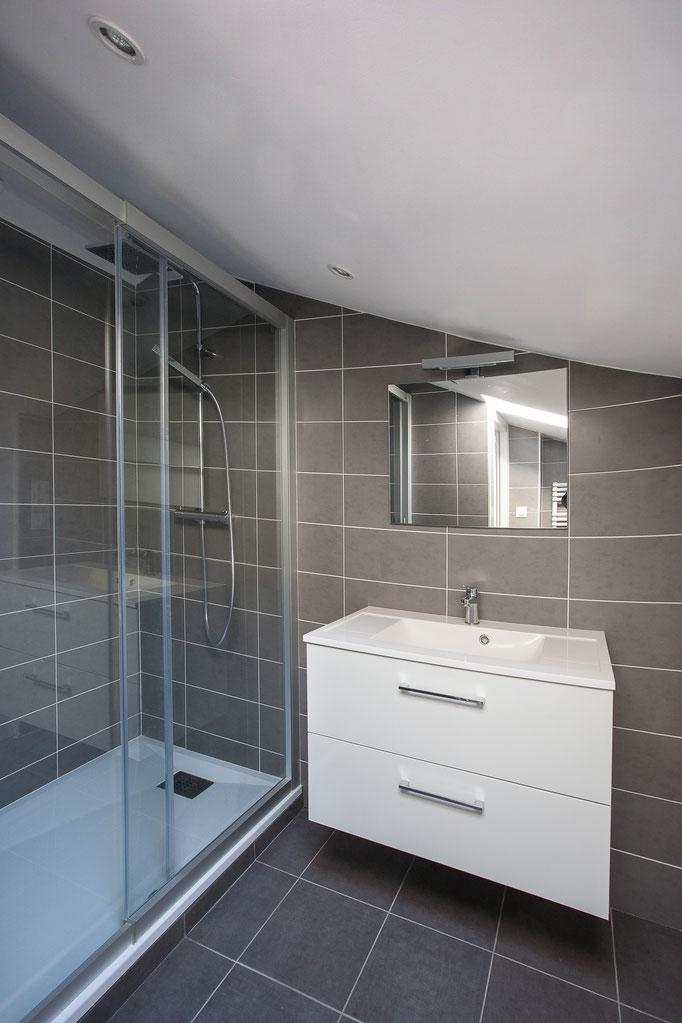 Aménagment d'une salle d'eau - Soustons - 2017