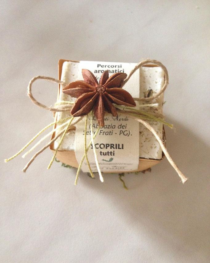 Bomboniera: sapone con anice stellato