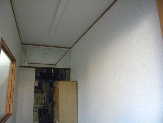 玄関新設リフォーム:工程写真の工事写真