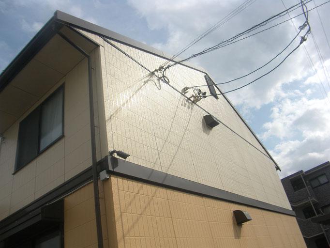 幕板・破風板改修工事の工事写真