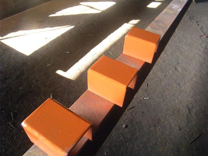 柱脚補修工事:工事写真