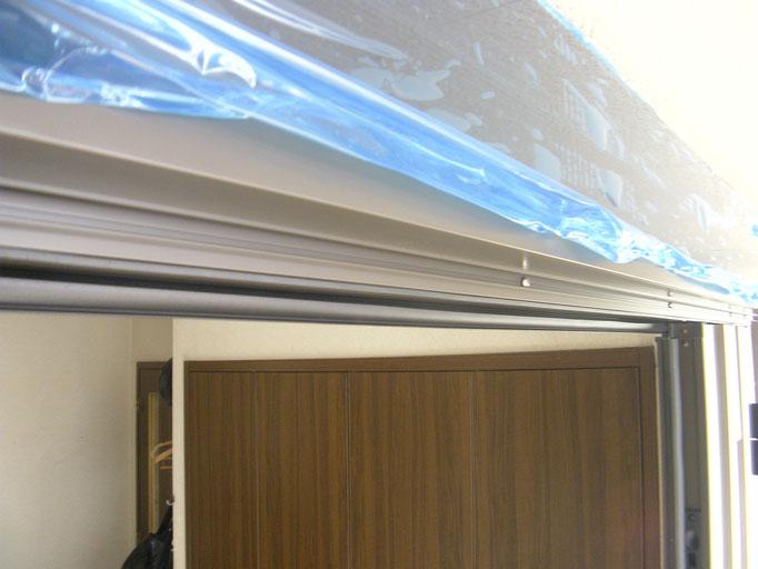 リシェント玄関ドアの工事写真