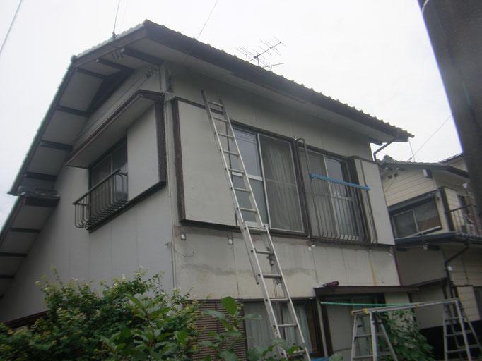 バルコニー改修工事の工事写真