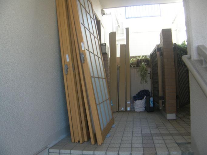 インプラス(内窓)工事の工事写真