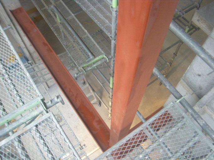 個人住宅サッシ下地の工事写真