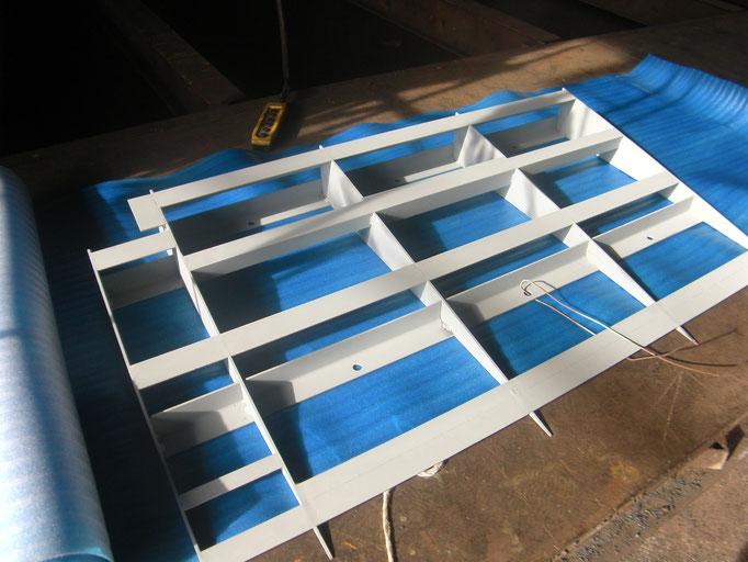 スロープ鉄板新設工事の工事写真