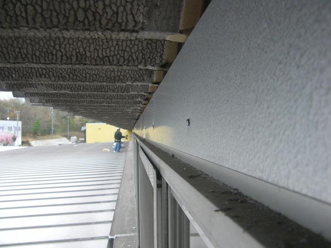 雨漏り防止対策工事の工事写真