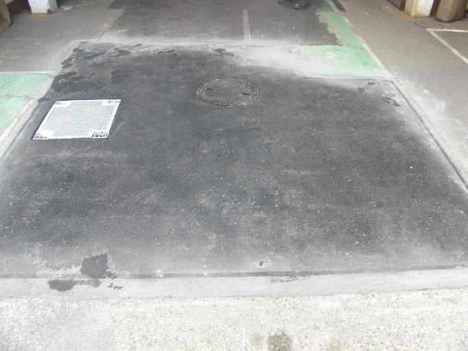 ピット及び舗装改修工事の工事写真