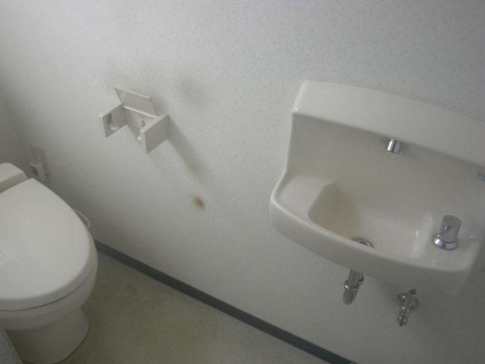 トイレ入れ替え工事の工事写真