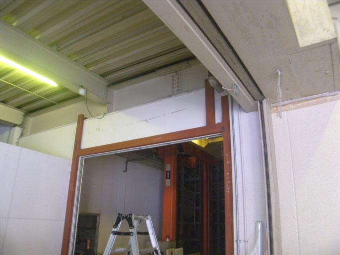門番新設工事の工事写真