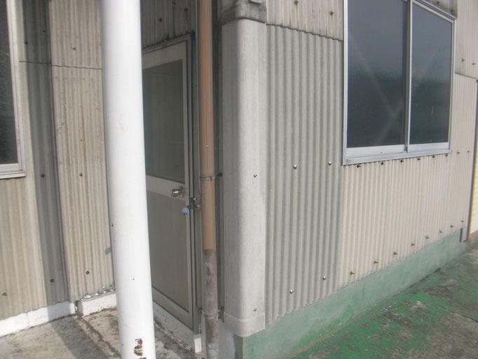 破損スレート取替工事の工事写真