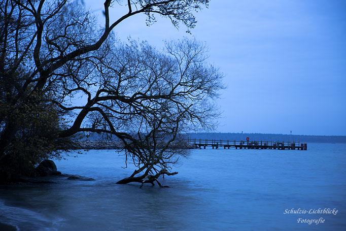 Abends am Müritz See