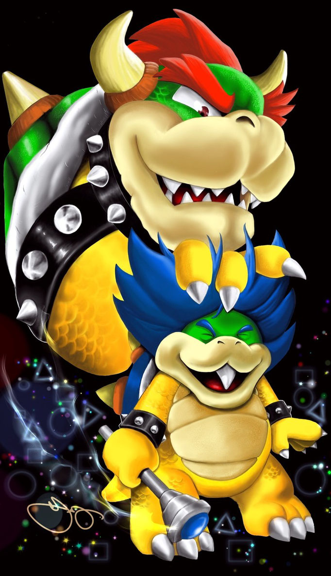 Chip Off the Old Block: Bowser and Ludwig Von Koopa