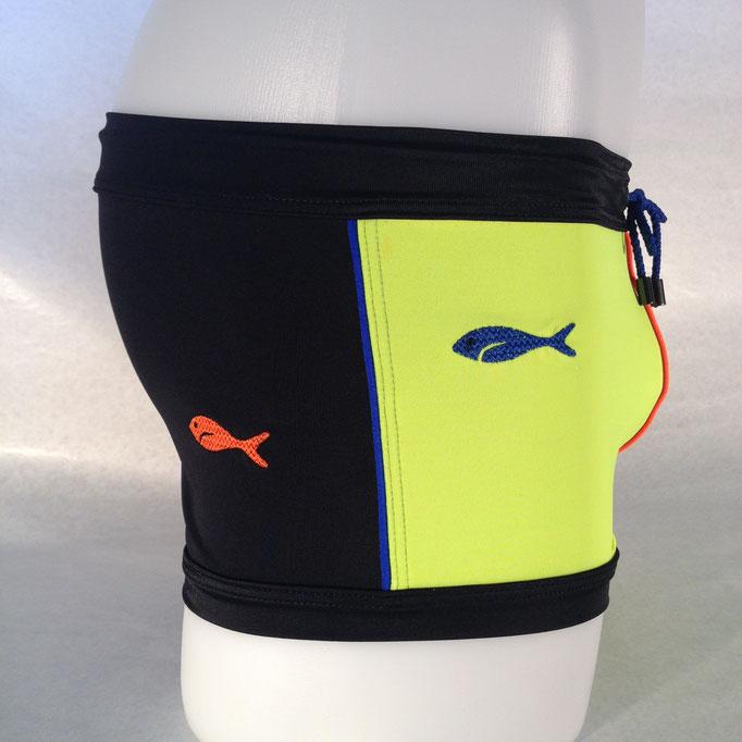 Modell: 2 Fische, Grösse M, erhältlich bei: www.markant.ch