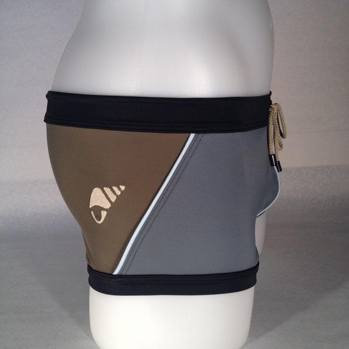 Modell: Muschel, Grösse M, erhältlich bei: www.treger.ch