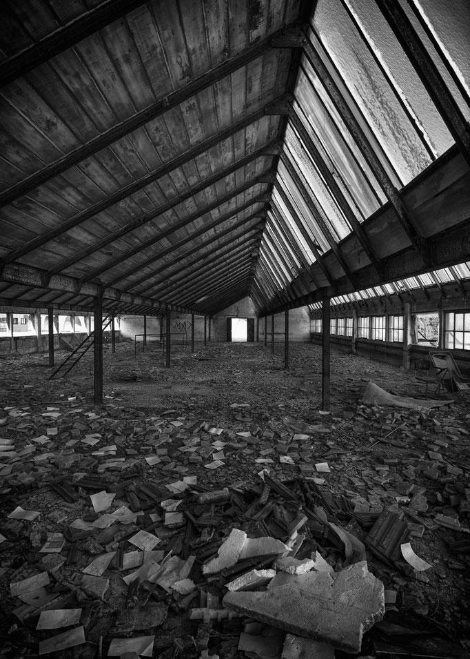 Factory hall  |  Belgium  |  2012