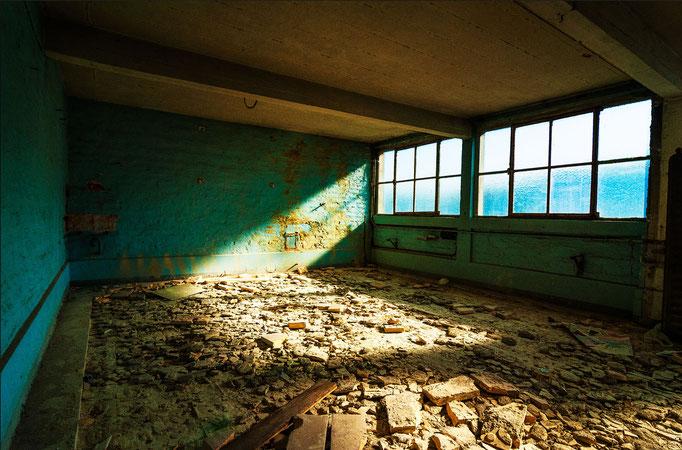 Turquoise room  |  Belgium  |  2012