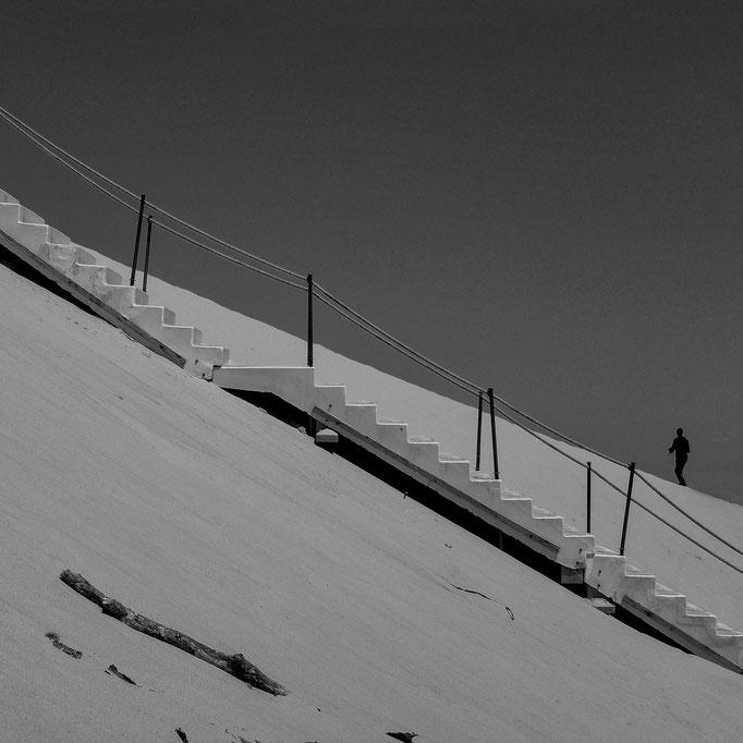 Stairs |  Dune du Pilat  |  2013