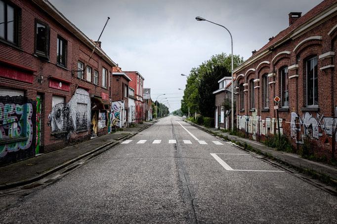 Main road  |  Doel  |  2012