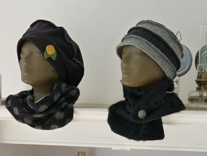 Mütze mit Knopf 100% Schurwolle in vielen Farben erhältlich 31,00€