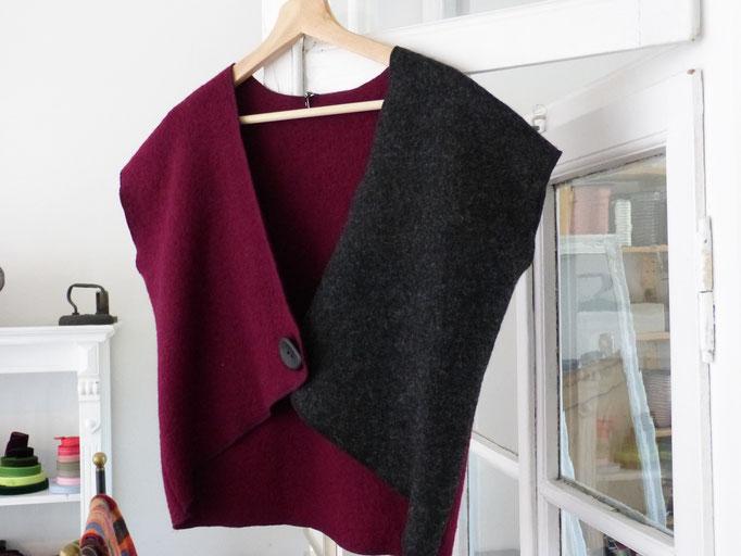 Walkweste 100% Schurwolle  auch in verschiedenen Farben und Größen erhältlich                                                                             43,00€