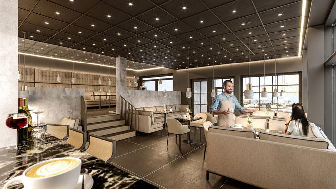 <i>CAFE  INTERIOR </i><i>Klient: Fromat Plus ZT GmbH</i>