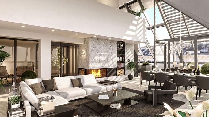 <i>LOFT WIEN </i><i>Klient: Tegimentum Immobilien GmbH & Co KG</i>