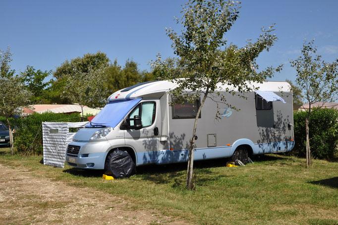 Accueil camping-car au camping l'Océan