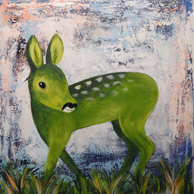 Bambini, 2015 60 x 60 cm (verkauft)